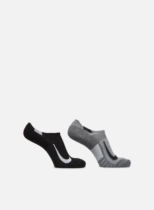 Chaussettes et collants Nike Nike Multiplier No-Show Gris vue détail/paire