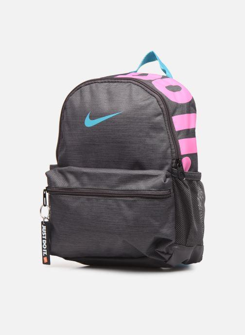 Scolaire Nike KID Brasilia Jdi Gris vue portées chaussures