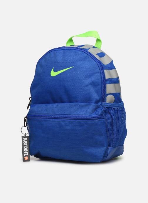 Scolaire Nike KID Brasilia Jdi Bleu vue portées chaussures