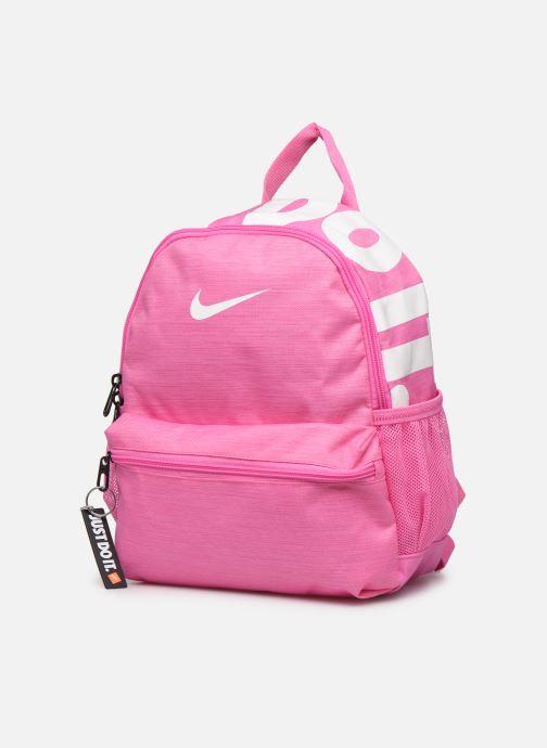 Skoletasker Nike KID Brasilia Jdi Pink se skoene på