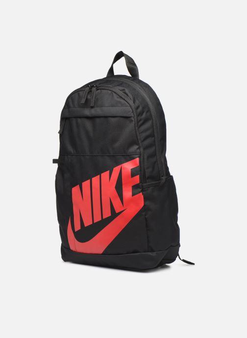 Rucksäcke Nike ELMNTL BKPK - 2.0 schwarz schuhe getragen