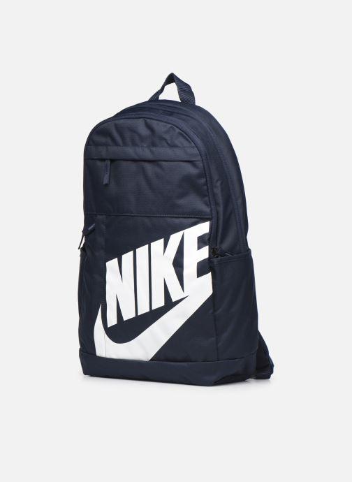Rucksäcke Nike ELMNTL BKPK - 2.0 blau schuhe getragen