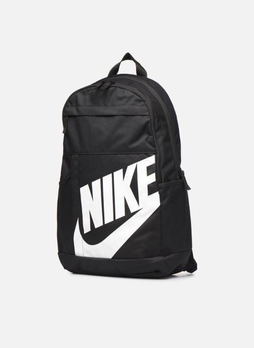 Zaini Nike ELMNTL BKPK - 2.0 Nero modello indossato