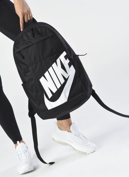 Sacs à dos Nike ELMNTL BKPK - 2.0 Noir vue bas / vue portée sac