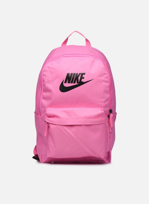 Mochilas Nike HERITAGE BKPK - 2.0 Rosa vista de detalle / par
