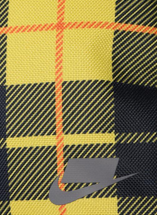Bolsos de hombre Nike HERITAGE SMIT - 2.0 AOP Amarillo vista lateral izquierda
