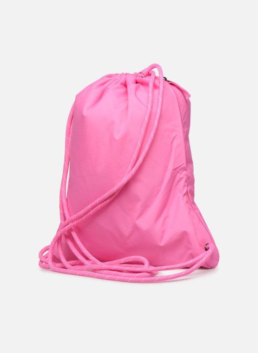 Sporttaschen Nike HERITAGE GMSK - 2.0 rosa ansicht von rechts