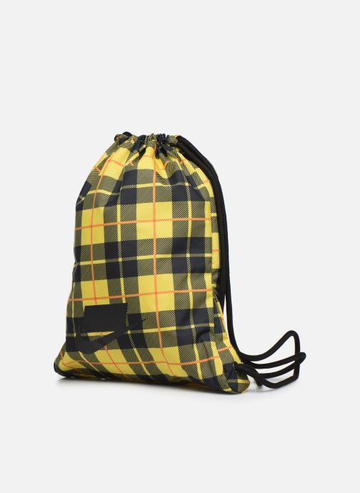 Sporttaschen Nike HERITAGE GMSK - 2.0 AOP gelb schuhe getragen