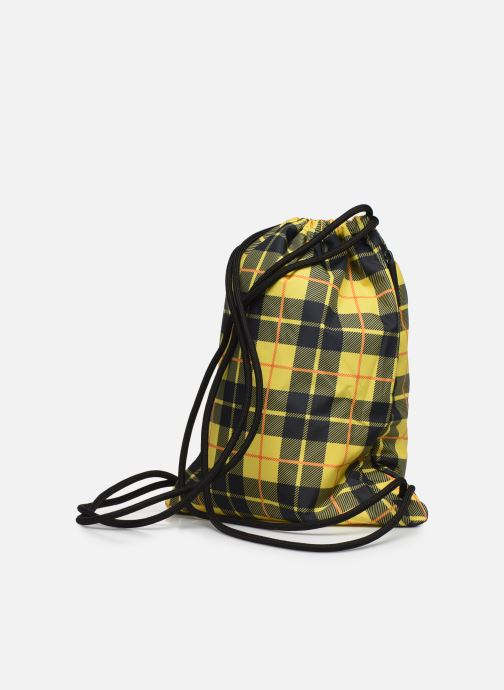 Sports bags Nike HERITAGE GMSK - 2.0 AOP Yellow view from the right