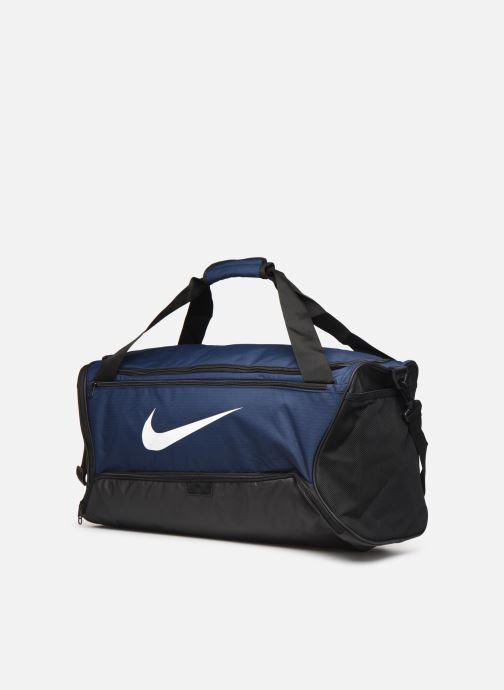 Sporttaschen Nike BRSLA M DUFF - 9.0 blau schuhe getragen