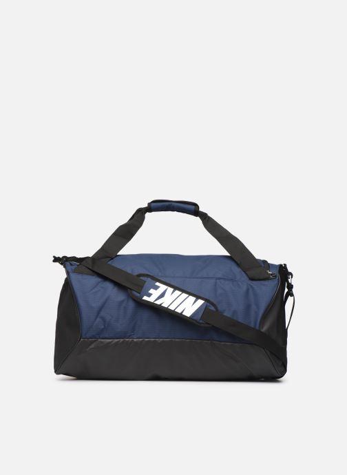 Sports bags Nike BRSLA M DUFF - 9.0 Blue front view