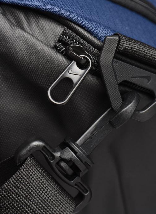 Sporttaschen Nike BRSLA M DUFF - 9.0 blau ansicht von links