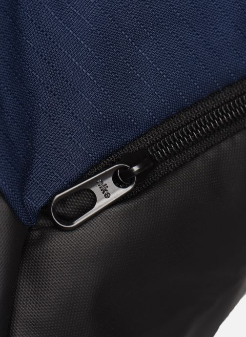 Borsa da palestra Nike BRSLA S DUFF - 9.0 Azzurro immagine sinistra
