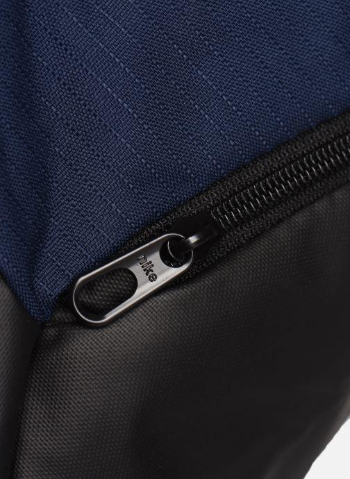 Bolsas de deporte Nike BRSLA S DUFF - 9.0 Azul vista lateral izquierda