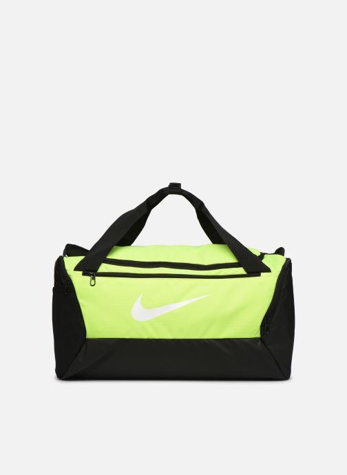 Sacs de sport Nike BRSLA S DUFF - 9.0 Jaune vue détail/paire