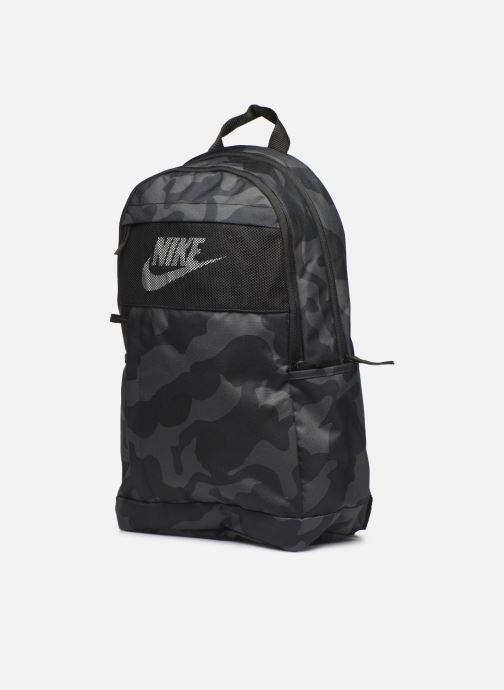 Sacs à dos Nike ELMNTL BKPK - 2.0 AOP2 Noir vue portées chaussures