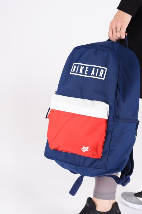 Rucksacks Nike HERITAGE BKPK - 2.0 AIR GFX Blue view from underneath / model view