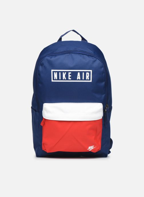 Rucksacks Nike HERITAGE BKPK - 2.0 AIR GFX Blue detailed view/ Pair view
