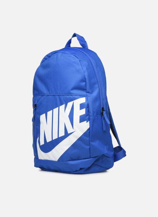 Sacs à dos Nike KID Y NK ELMNTL BKPK Bleu vue portées chaussures