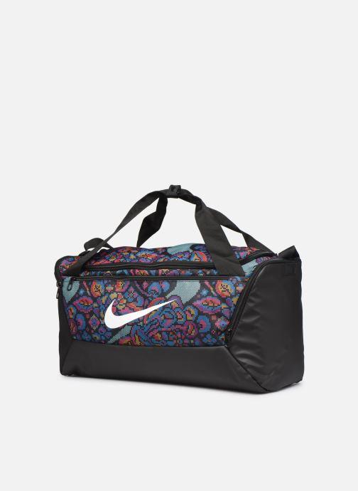 Bolsas de deporte Nike BRSLA S DUFF - 9.0 AOP 3 Multicolor vista del modelo