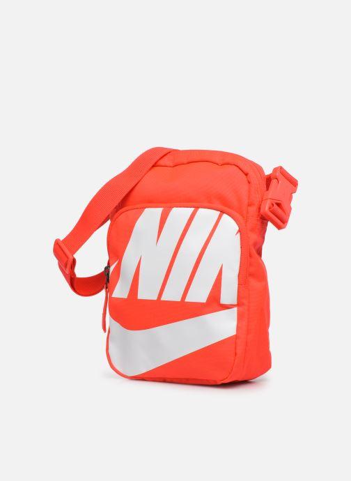 Bolsos de hombre Nike HERITAGE SMIT - 2.0 GFX Rojo vista del modelo