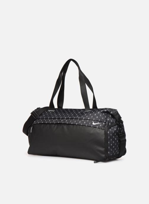 Sporttaschen Nike W RADIATE CLUB - FA19 AOP2 schwarz schuhe getragen