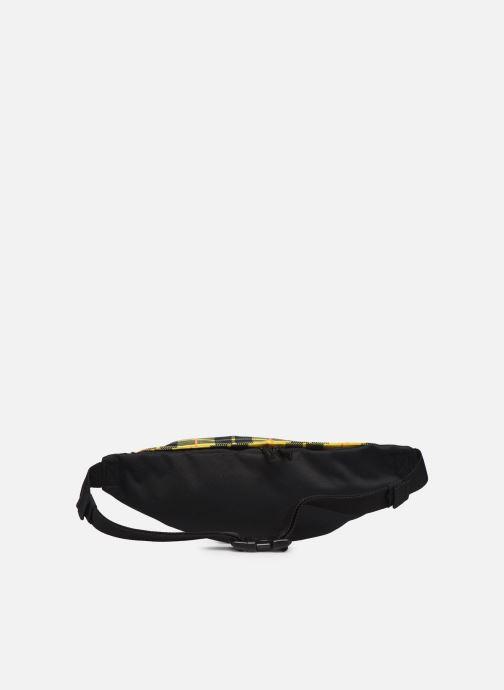 Kleine lederwaren Nike HERITAGE HIP PACK - PLAID Rood voorkant