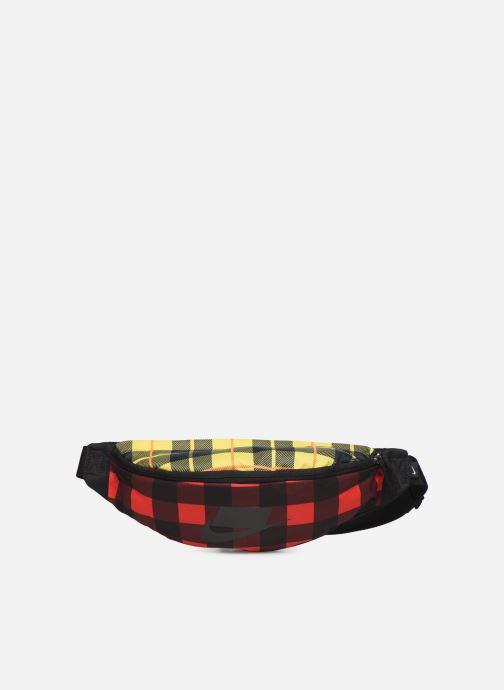 Petite Maroquinerie Nike HERITAGE HIP PACK - PLAID Rouge vue détail/paire