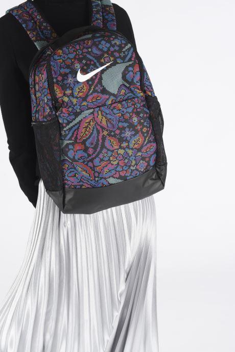 Sacs à dos Nike BRSLA M BKPK - 9.0 AOP3 Multicolore vue bas / vue portée sac