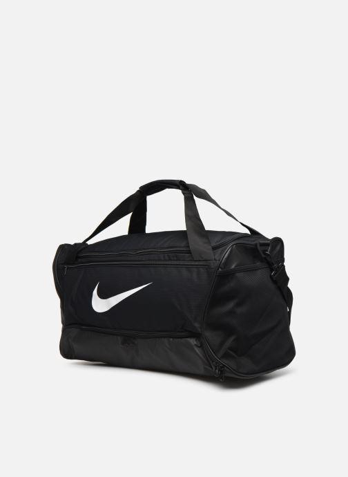 Sporttaschen Nike BRSLA M DUFF - 9.0 (60L) schwarz schuhe getragen