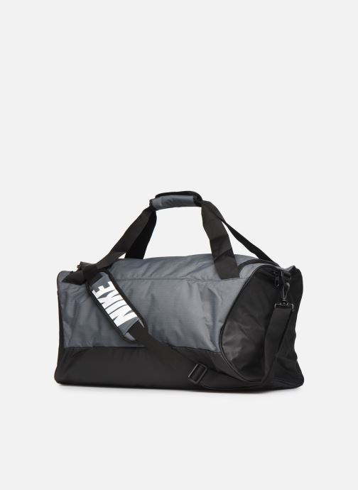 Sports bags Nike BRSLA M DUFF - 9.0 (60L) Grey view from the right