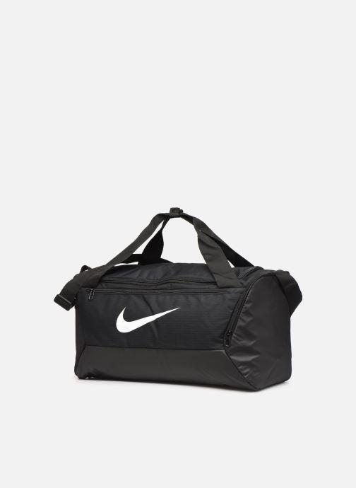 Sporttaschen Nike BRSLA S DUFF - 9.0 (41L) schwarz schuhe getragen