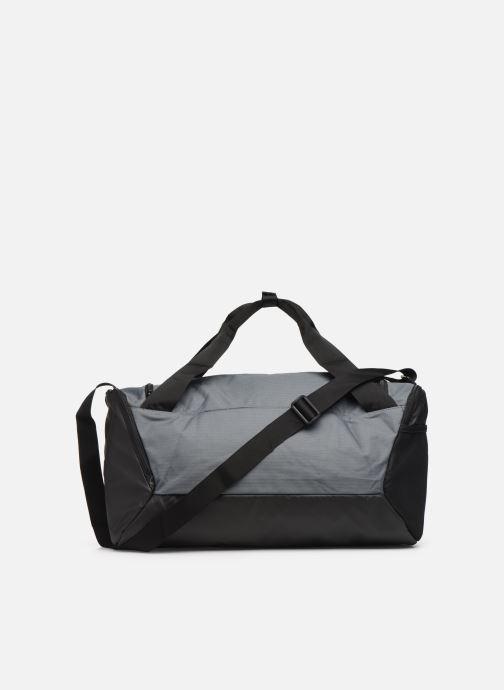 Sports bags Nike BRSLA S DUFF - 9.0 (41L) Grey front view