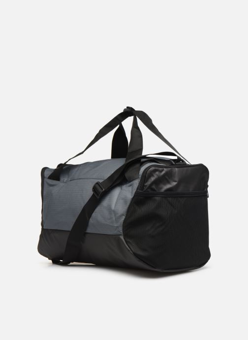 Sports bags Nike BRSLA S DUFF - 9.0 (41L) Grey view from the right