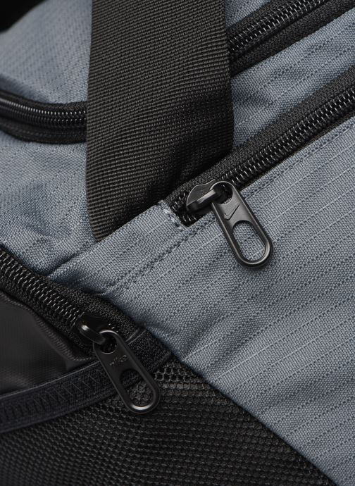 Sports bags Nike BRSLA S DUFF - 9.0 (41L) Grey view from the left