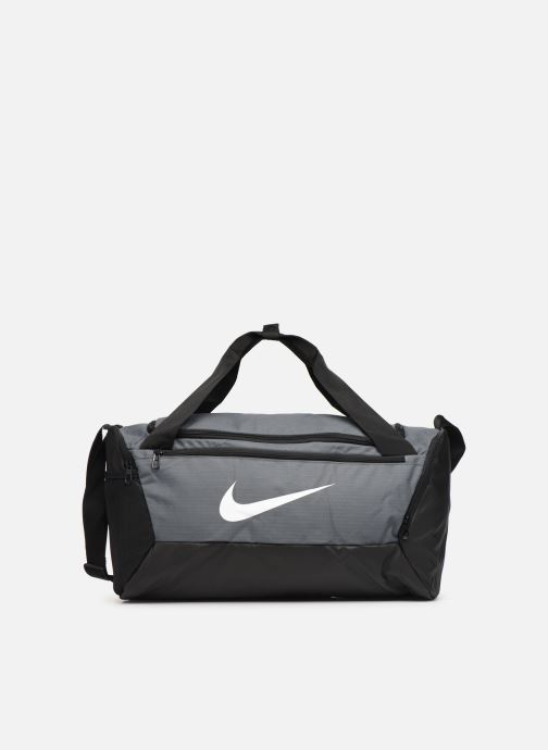 Bolsas de deporte Nike BRSLA S DUFF - 9.0 (41L) Gris vista de detalle / par
