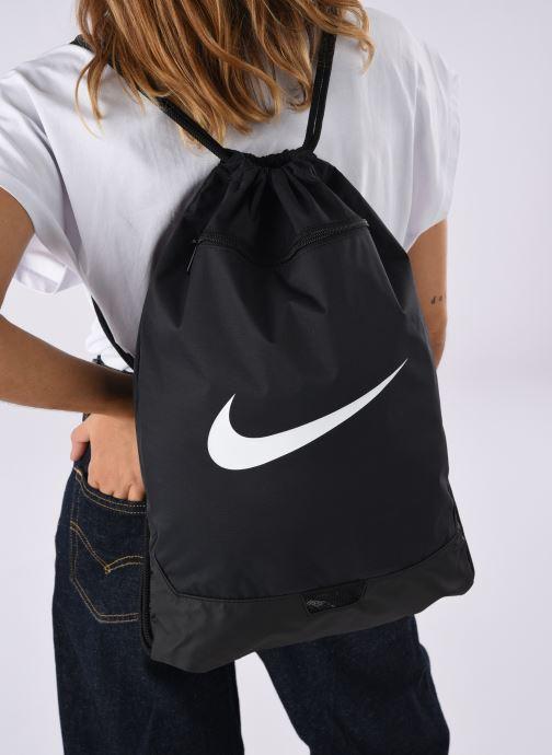Bolsas de deporte Nike BRSLA GMSK – 9.0 Negro vista de abajo