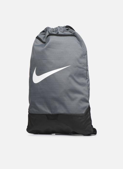 Sacs de sport Nike BRSLA GMSK – 9.0 Gris vue portées chaussures