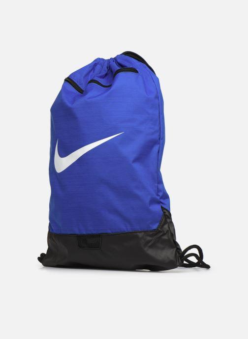 Borsa da palestra Nike BRSLA GMSK – 9.0 Azzurro modello indossato