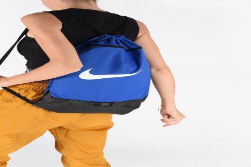 Borsa da palestra Nike BRSLA GMSK – 9.0 Azzurro immagine dal basso