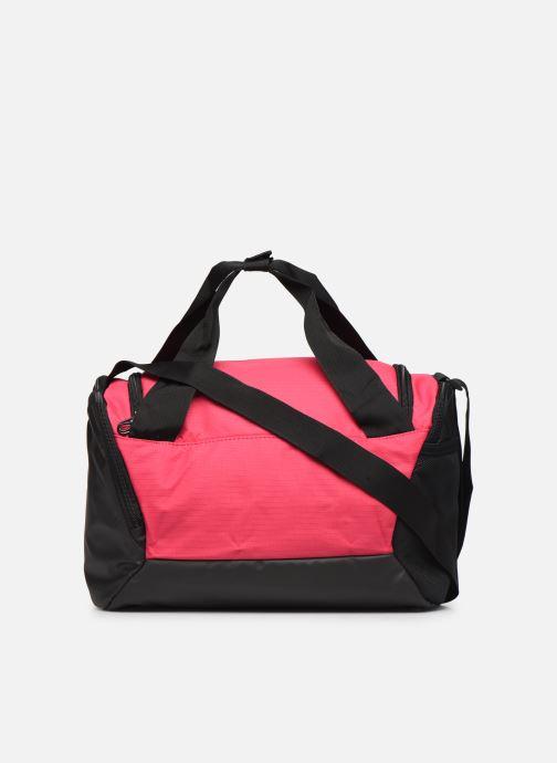 Sports bags Nike BRSLA XS DUFF - 9.0 Pink front view