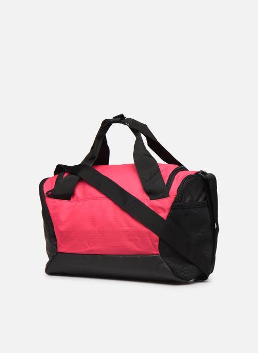 Sporttaschen Nike BRSLA XS DUFF - 9.0 rosa ansicht von rechts