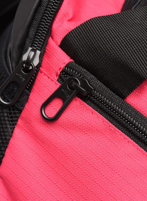 Bolsas de deporte Nike BRSLA XS DUFF - 9.0 Rosa vista lateral izquierda