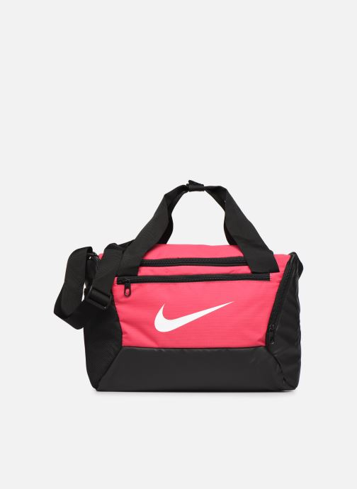 Bolsas de deporte Nike BRSLA XS DUFF - 9.0 Rosa vista de detalle / par