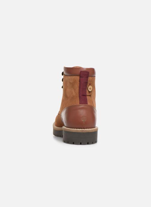 Bottines et boots Faguo Holly C Marron vue droite