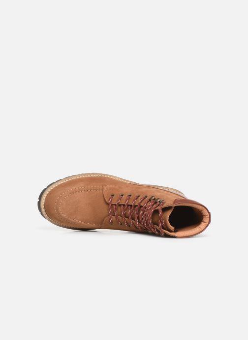 Bottines et boots Faguo Holly C Marron vue gauche