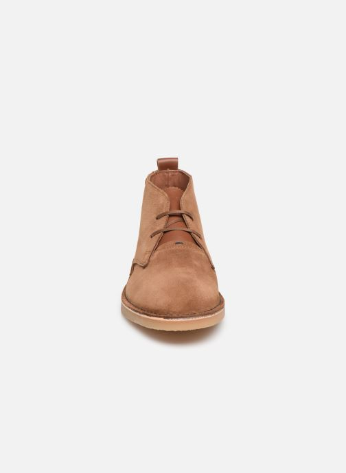 Ankle boots Faguo Lebanon c Brown model view