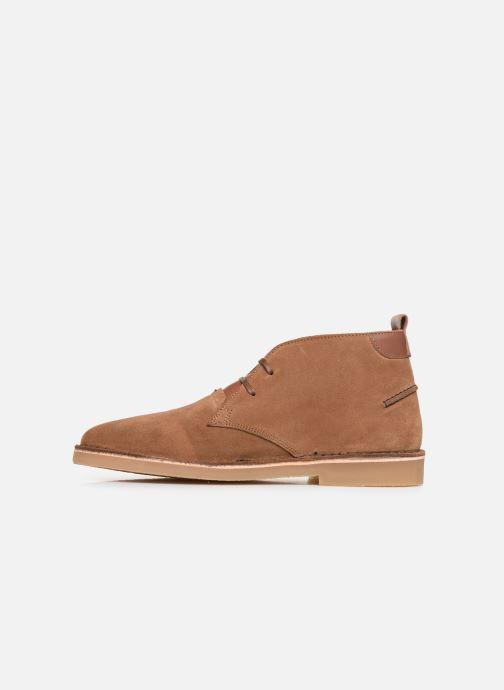 Boots en enkellaarsjes Faguo Lebanon c Bruin voorkant
