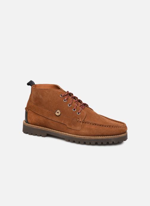 Bottines et boots Faguo Larchmid C Marron vue détail/paire