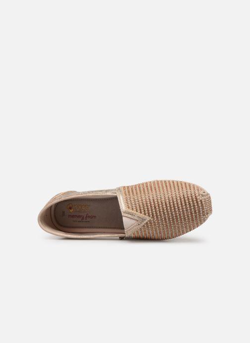Mocassins Skechers Luxe Bobs/Big Dreamer Or et bronze vue gauche